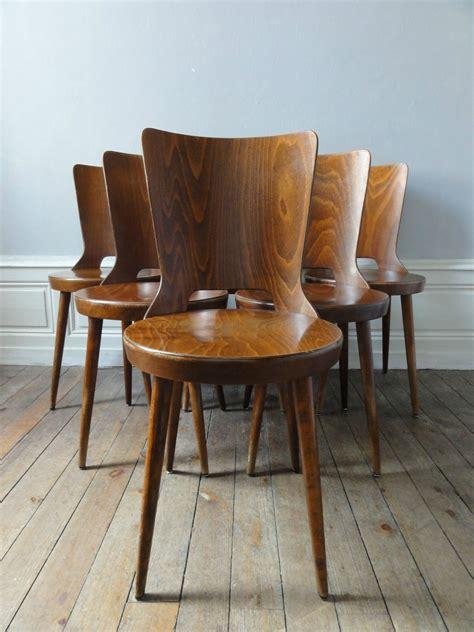 chaises retro chaises annees 60 style baumann vintage émoi