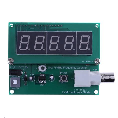 Mhz High Sensitivity Digital Frequency Meter