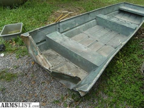 Flat Bottom Boat Pods by Armslist For Sale 12 Foot Flat Bottom Jon Boat