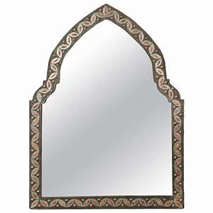 Moroccan Arch Mirror Inlaid at 1stdibs