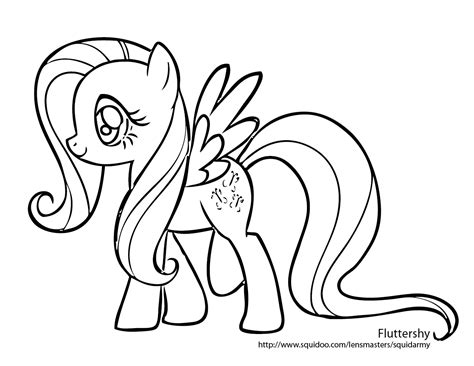 coloring pages   pony coloring pages