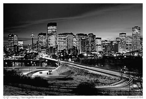 black  white picturephoto bridge  skyline  night