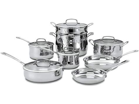 cookware cuisinart stainless piece contour steel abt sets quality roll zoom