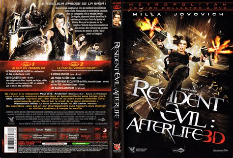 Resident Evil 4 Afterlife DVD-Cover