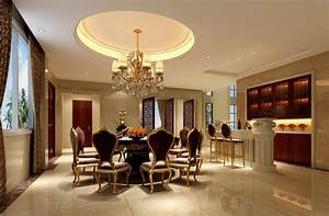 Classic Dining Room Curtains With Luxury Interior And ...