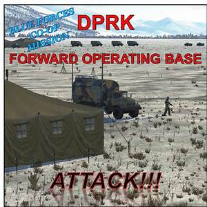 DPRK FORWARD OPERATING BASE ATTACK!!! (CO-OP MISSION FOR ...