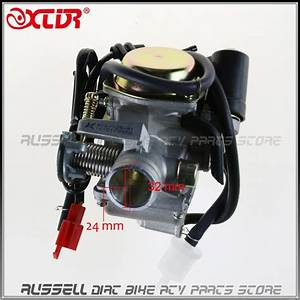 24mm Carb Carburetor 125cc 150cc Gy6 Pd24j Jonway Jmstar