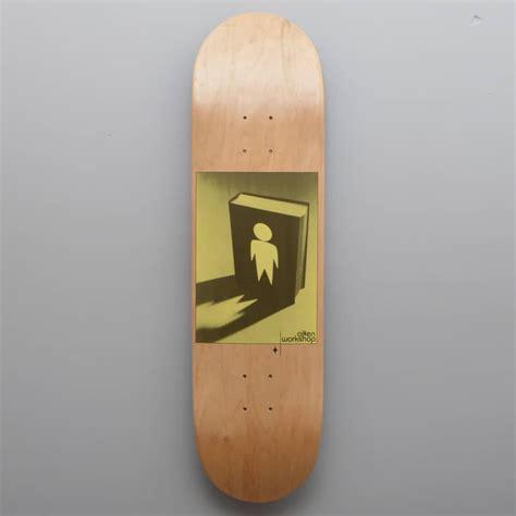 alien workshop good book natural skateboard deck 8 375