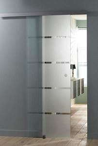 choisir une porte coulissante galerie photos d39article 9 9 With salle de bain design avec décorer une porte intérieure