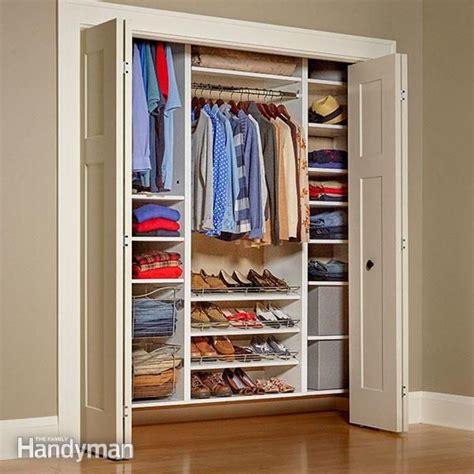 build   melamine closet organizer closet built