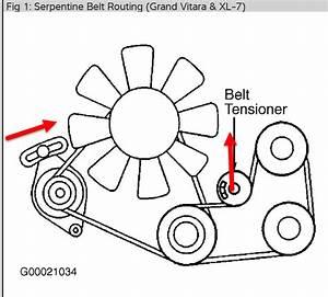 Alternator Belt Installation  The Alternator Belt Broke