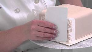 Decorating Tips  Using Stencil Techniques For Cakes
