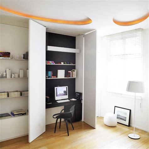 placard bureau ikea 5 astuces déco pour cacher un bureau dans un placard placard cacher et bureau