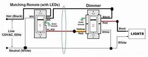 Wiring Dimmer Switch Diagram 2 Black 1 Red