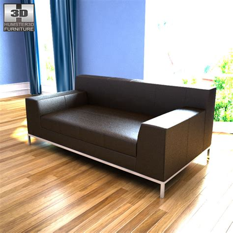 ikea kramfors sofa dimensions ikea kramfors two seat sofa 3d model humster3d