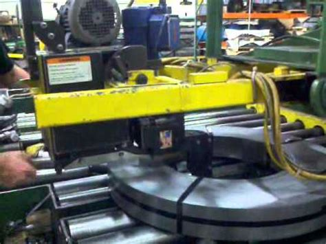 signode kls steel banding machine youtube