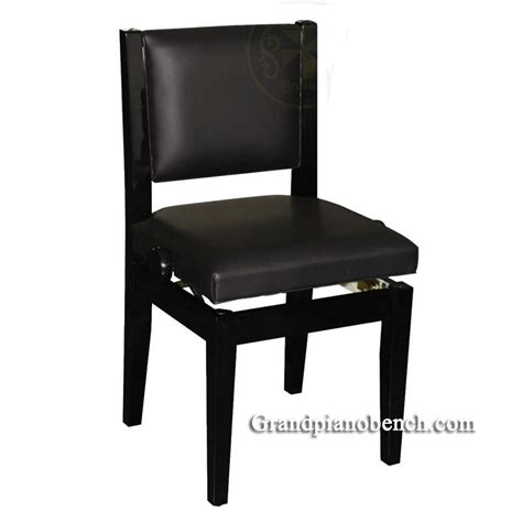 padded piano chair that adjusts