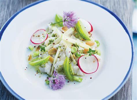 oignon blanc cuisine tartare poisson recette légère gourmand