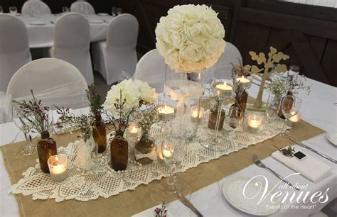 Vintage Wedding Table Decorations Gold Coast