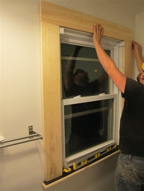 installing  window trim woodworking tips  tricks