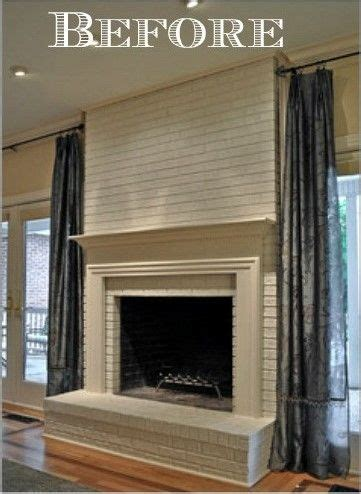 fireplace  mantel makeover home improvement ideas
