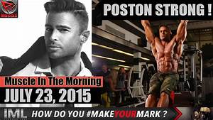 POSTON STRONG! - Muscle In The Morning July 23, 2015 - YouTube
