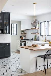 our home in domino magazine wit delight With kitchen cabinet trends 2018 combined with school of fish wall art
