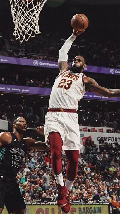 Lebron James Dunk Dunking Wallpapers Background King
