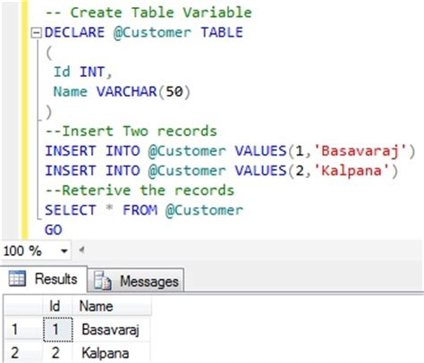 temporary tables  created  tempdb sqlhintscom