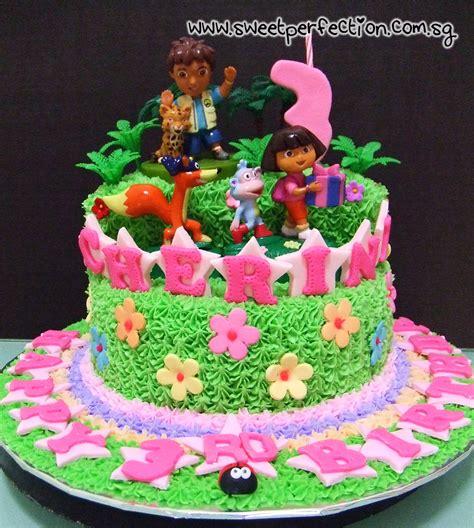 sweet perfection cakes gallery code dora  dora