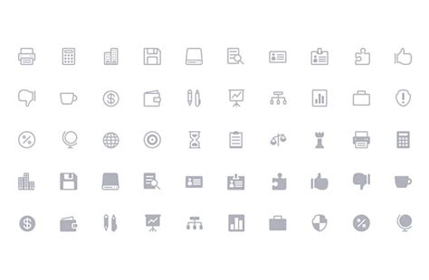 50 Free, Flat And Gorgeous Icon Sets For The Modern Designer
