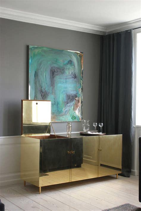 Absolute Dream Brass Credenza  Beautiful Interiors