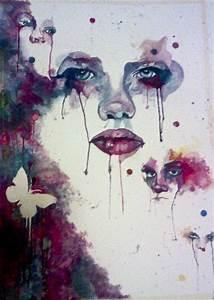 Watercolor faces by Randomizer13 on DeviantArt