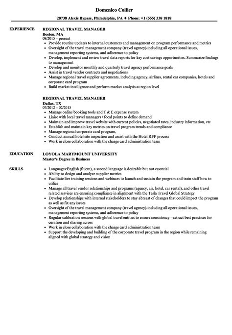 colorful corporate travel management resume ornament
