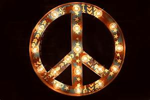 peace sign marquee letter marquee sign marquee star With peace sign letter