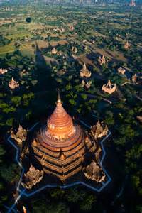 Myanmar Temples Bagan Hot Air