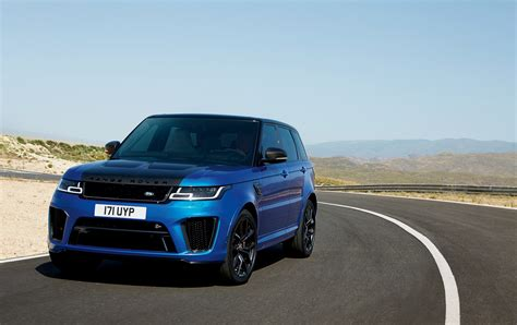 land rover sport 2018 range rover sport svr facelift looks ready to rumble