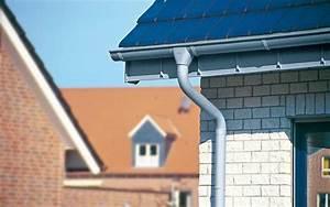 tous nos conseils pour choisir votre future gouttiere With type de toiture maison 6 comment changer une gouttiare