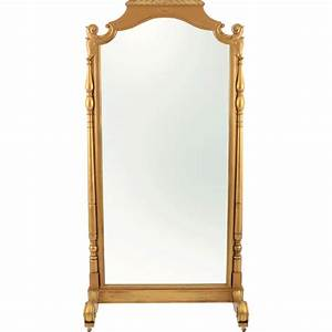 french gilt double sided floor mirror solvang antiques With parquet double face