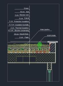 green roof dwg block  autocad designs cad