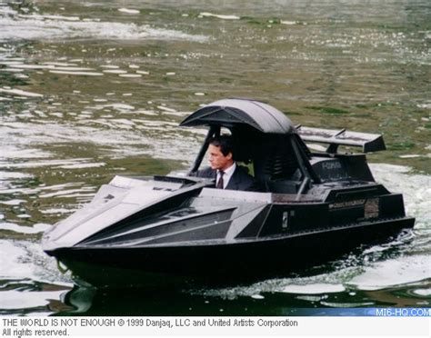 The Q Boat by Wade Eastwood Stunt Driver Bond 007