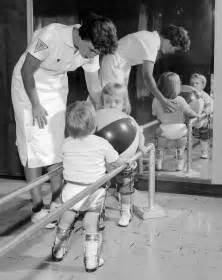 Image:Polio physical therapy.jpg Physical Therapy