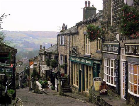 The beautiful village of Haworth, where the Brontë sisters ...