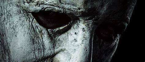 michael myers returns  atmospheric  halloween poster