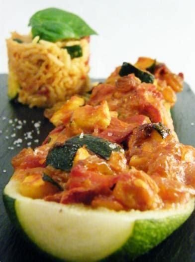 recette courgettes farcies aux legumes de saison