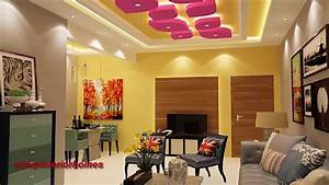 25 latest gypsum false ceiling designs living room for Interior decoration for living room in nigeria