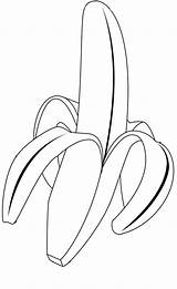 Banana Coloring Pages Fruits Colouring Drawing Vegetable Printable Fruit Leaf Tropical Peel Sheets Getdrawings Wreck Delicious Peeled Popular Kidsplaycolor sketch template