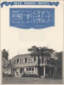 dutch colonial house plan  radfords blue ribbon homes vintage design
