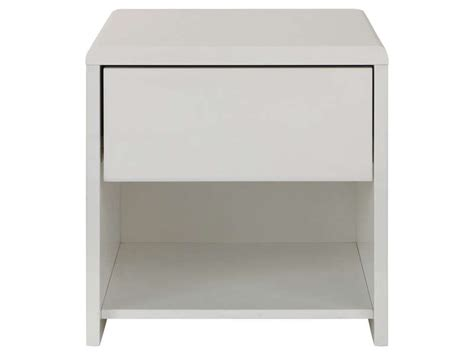 chevet chambre adulte chevet 1 tiroir easy 2 coloris blanc vente de chevet