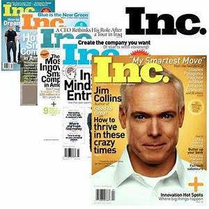 Inc. Magazine subscription only $3.50 a year